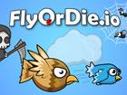 Fly or Die ist ein Multiplayer Überlebensspiel. Sie beginnen als kleine Fl