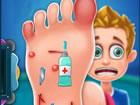 Foot Care macht Spaß und macht süchtig nach hyper-lässigen M&au