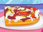 Manchmal sind die Leute will pizza in einer anderen Weise zu essen. Mit diesem