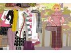 Klicken Sie und ziehen Sie die Elemente, um Ihre Lehrer mit der neuesten Mode k