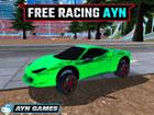 Free Racing Ayn, führe Stunts in einem riesigen freien Raum mit Supersport