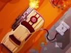 Furious Road ist ein Auto-Überlebensspiel, in dem du dein Panzerfahrzeug d