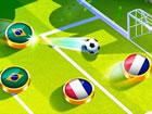 Fußball Kappen - Das Fußballspiel der Weltmeisterschaft. Wähle