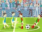 Soccer Physics 2 ist ein Ragdoll wie zwei Tasten 2 Spieler Fußballspiel.
