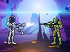 Galaktischer Schütze ist ein lustiges 2D Shooter Spiel mit Puzzle Elemente