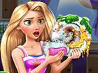 Rapunzel, eine Prinzessin, und weil sie den ...