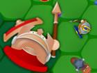Multiplayer-Kampf mit Schwertern, Pferden un...