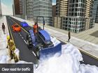 Spielen Sie das Spiel Grand Snow Clean Road Driving Simulator 19, räumen S