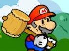 Mario ist nun ein alter Mann und ein Opa, aber er ist noch in der Lage Zerschla