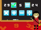 Sie haben 60 Sekunden Zeit, um möglichst viele Gleichungen zu vervollst&au