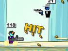 Gun Mayhem Redux ist ein Action-Spiel für ein bis vier Spieler. Vielleicht ken