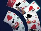 In diesem Crescent Solitaire-Spiel spielst du zuerst Karten der gleichen Farbe