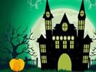 Halloween-Ratte in einem Spukhaus gefangen u...