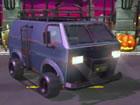 Halloween Skeleton Smash ist ein Autofahrspiel, bei dem Sie einen Van mit volle