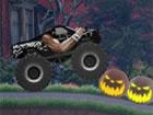 Halloween Spooky Roads 2 ist ein radikales Monstertruckspiel, in dem du die M&o