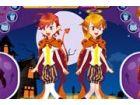 Halloween Teufel Zwillinge - Halloween Teufel Z...