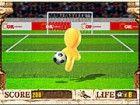 Halten Sie den Ball in der Luft so lange wie möglich.