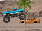 Hard Wheels 2 ist ein Side-Scrolling-Monster-Truck-Fahrspiel. Starten Sie den M