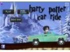 Harry Potter ist mit seinem Auto. Er wird von b...