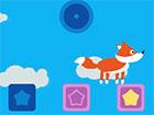 Heikler Fuchs ist ein Platformer-Spiel, bei dem Sie versuchen, alle Würfel
