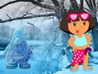 In diesem Fluchtspiel kamen A Girl Dora und ihre Freundin für Holiday in d