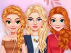 Die Prinzessinnen haben einige tolle Ideen für Herbstoutfits, die sie ausp