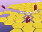 Hexafall.io ist ein Multiplayer-Battle-Royale-Spiel für 10 Spieler, das im