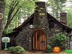 Stellen Sie sich vor, jemand ist in diesem Steinhexenhaus gefangen und Sie m&uu