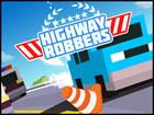 Bei Highway Robbers geht es darum, Rennverkehr zu betreiben, Autos, Hindernisse