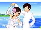Jedes Mädchen Traum eine schöne Hochzeit mit dem Mann ihres Lebens. Diese paa