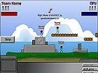 Gebiet War - Remake von Worms. Zerstöre das gegnerische Team. -myhappygames.co