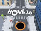 Hole.io ist ein einzigartiges .io Spiel, in dem du ein Schwarzes Loch hast, das