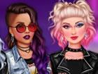 Immer mit neuen Modetrends verbunden, beschlossen diese coolen Mädchen, ih