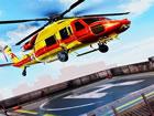 Seien Sie bereit, Hubschrauberpilot zu werden und Hubschrauber in einer anderen
