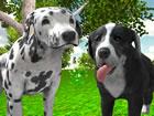 Im Hunde simulator 3d spiel reisen Sie mit einem der von Ihnen ausgewählte