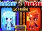 Icestar und firestar müssen alle Schätze Diamanten zu finden, um den Weg nach