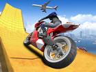 In diesen Impossible Moto Bike Track Stunts musst du ein echtes Motorrad-Stunt-