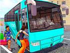 Im Offroad-Bus Transport Driver: Tourist Coach Sim Hocheffiziente Motorbusse we