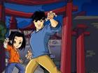 Jackie Chans Abenteuer ist ein Actionspiel. Sie müssen den Hinweis lö