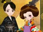 Der königliche Kaiser und die Kaiserin der jap...