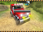 Lass uns ein unmögliches verrücktes gruseliges Stunt-Jeep-Fahrspiel s