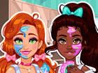 Begleite Jessie und Noelle in ihrem lustigen, echten Makeover-Abenteuer! Zuerst