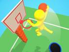 Mit 3D Stickman Basketball Modellen und physikalischen Arcade Spielregeln zum A