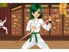 Das coole Küken ist aus der Martial-Arts-Klass...