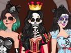 Spiele dieses brandneue Halloween-Makeup-Spiel ...