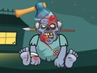 Kick The Zombies ist ein lustiges Anti-Stress-Spiel, in dem du einen Zombie tre