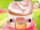 Dekorieren Sie einen perfekten Cupcake Haus fachinating Natur.