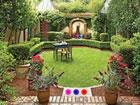 Ein Fluchtspiel, das Sie in ein kleines Gartenhaus führt. Das Spiel ist vo