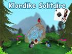 Klassisches Klondike-Solitairespiel mit zwei Schwierigkeitsgraden und 3D-Hinter