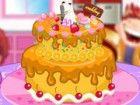Koch einen Kuchen und machen es so, wie Sie wollen. Geburtstag, Feiertag, kann